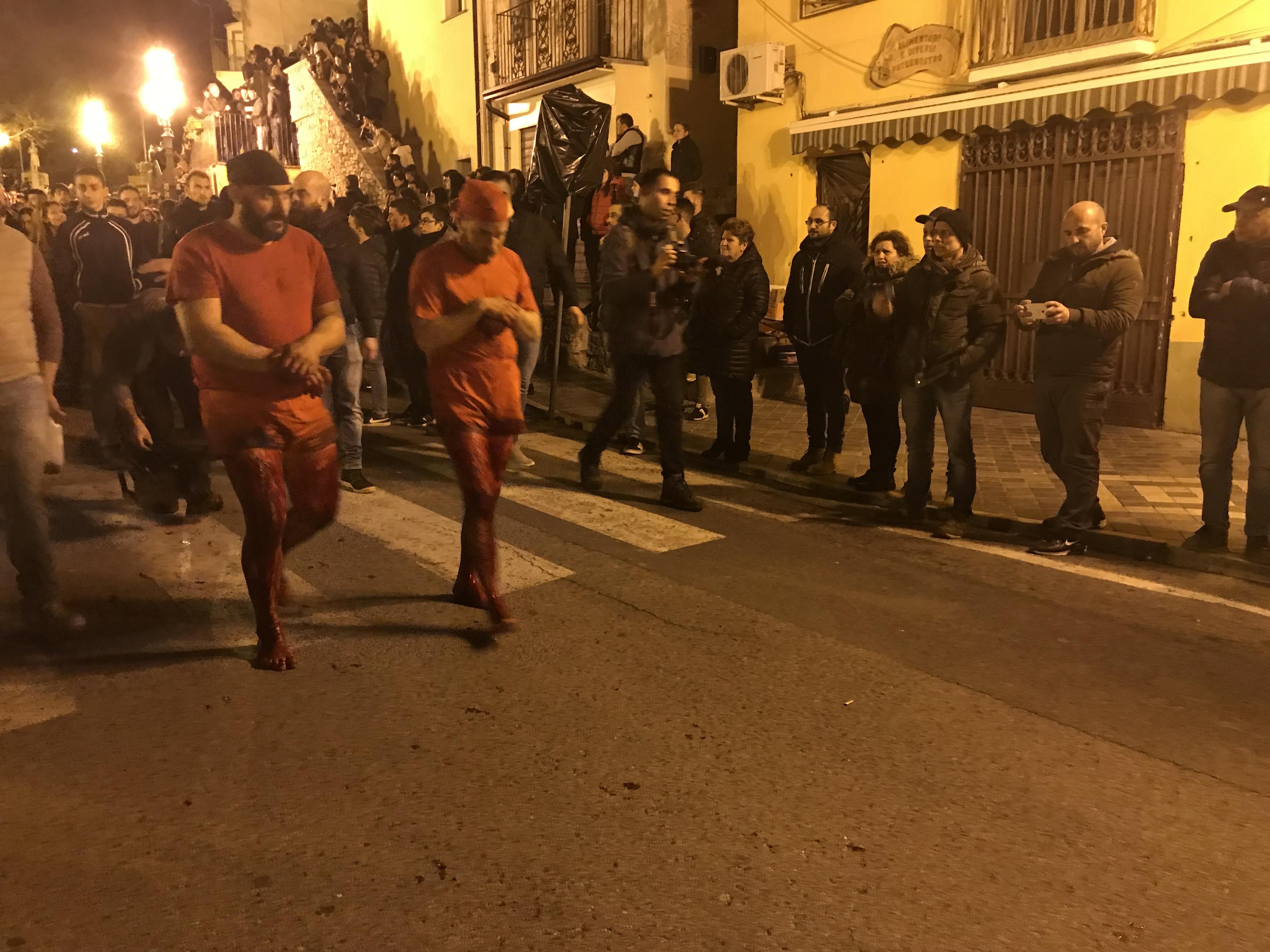I Vattienti di Verbicaro, rito di Pasqua in Calabria, Sud Italia.