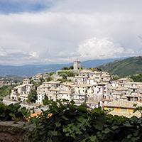 Mendicino the hamlet of the silk