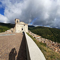 Sightseeing of San Donato di Ninea the hamlet of the chestnuts.
