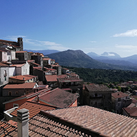 Sightseeing of Santa Domenica Talao among nature, culture, food and wine