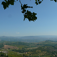 Sightseeing of the silk hamlet  in Southern Italy