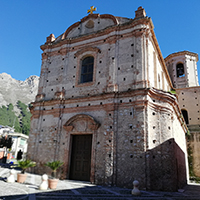 Sightseeing of Frascineto for travelling in Southern Italy.